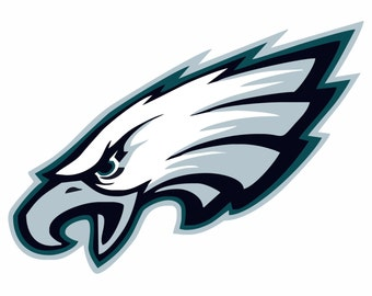 Philadelphia Eagles SVG,Football , Logo files by layers - Make Your Own Print Cut Crafts, Shirts, Wall Art, Vinyl Decals,ECT