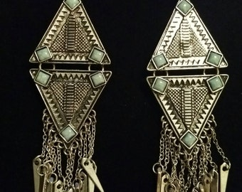 Sterling Silver Unique Dangle Earings