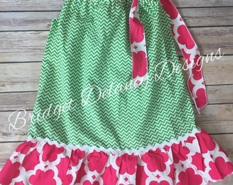 Girl's pillowcase dress, 2T