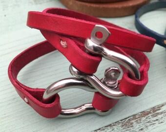 Leather Bracelet - Jewelry - Bohemian Jewelry - Everyday Bracelet - Joanna Gaines - Bracelets - Friendship Bracelet - Bracelet for Women
