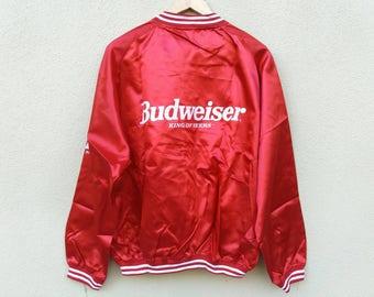 Vintage Budweiser King Of Beers Jacket