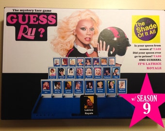 Guess Ru? Game - Rupaul's Drag Race Guess Who