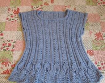 Blue Sky Sweater