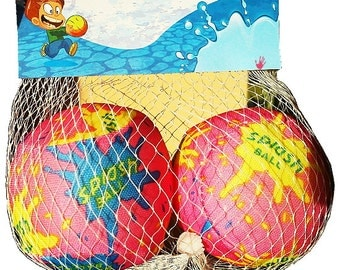 SPLASH BALLS - 2PCS -Water Polo - water bomb ball