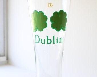 Irish Beer Glass