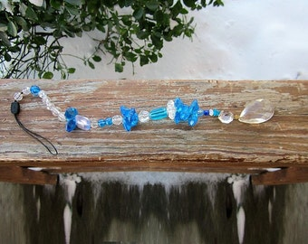 1 Hanging Window Handmade  Suncatcher with a Crystal Prisms