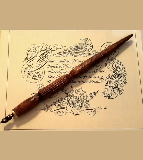 Calligraphy Pen Holder From Martinscalligraphy On Etsy Studio