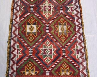 Vintage Moroccan Rug / Boujad Rug / Faded Moroccan Rug / Pink Moroccan Rug  31.5X47 inches