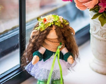 Hand made Elf doll.