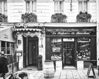 Paris Streets, BonneRoutePhotos, Paris Photography, Rue Cler, Paris Wall Art, Paris in Black and White, Bonne Route Photos