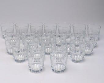 Vintage Lowball Glasses | Vintage Glasses | Barware | Vintage Barware | Lowball Glasses | Juice Glasses | Small Glasses