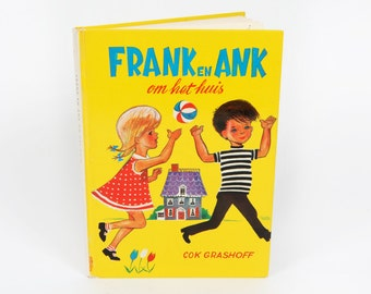 Vintage children's books-Frank and Ank around the House