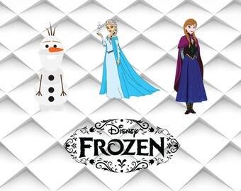 Frozen SVG | Elsa svg | Olaf svg | Frozen clipart | Frozen olaf svg,png,jpg,eps for Print/Design/Silhouette Cameo/Cricut and Many More
