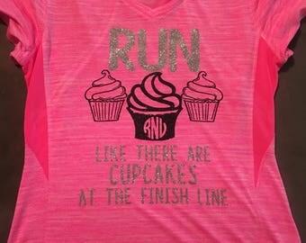 Cupcake Runner Quite Shirt