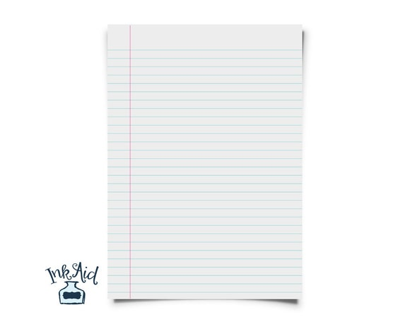 Print Your Own | NOTEBOOK Paper | Wide Rule AND College Rule Both Included  | Printable PDF Format U2022 Turn Printer Paper Into Notebook Paper From InkAid  On ...  Printable College Ruled Paper