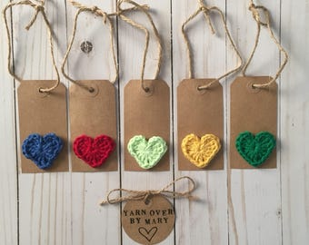 Kraft tags, Gift wrap, Favor tags, Heart gift tags, Gift tags, Hang tags, Holiday gift tags, Swing tags, Handmade tag, Gift labels