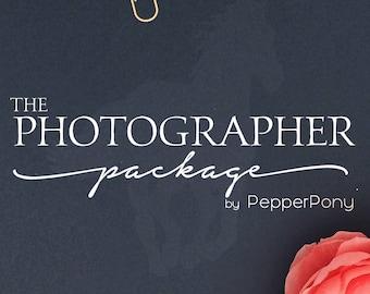 Logo Design Package - Graphic Design - Custom Logo - Graphic Designer - Photography Logo - Branding Board - Logo Designer - Photographer