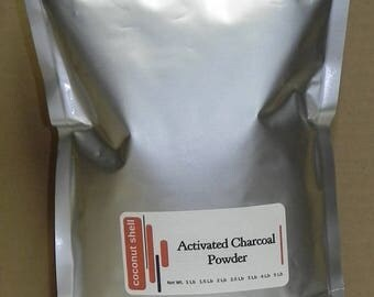 3 lb Activated Charcoal Powder - Ultra Fine - coconut shell - food grade - BUY 2 get 1 FREE