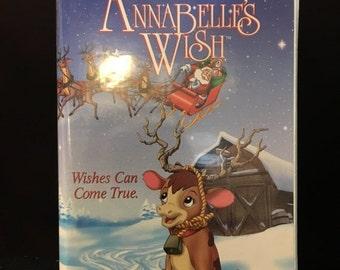 Vintage Annabelles Wish Vhs