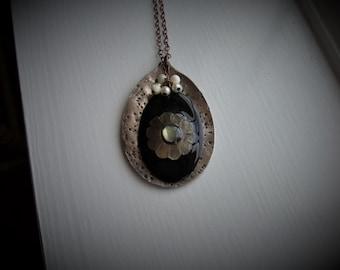 Vintage Spoon Necklace #334
