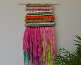 Neon Rainbow Weaving