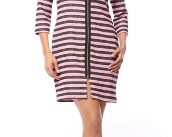 Kimberly's Zipper Dress