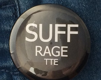 Suffragette Button Badge
