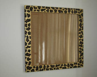 Picture frame Leopard print