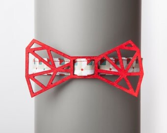 Architect Red Bow Tie