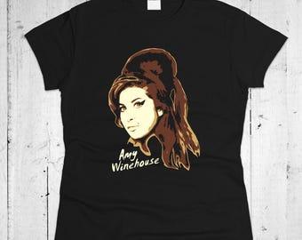 Amy Winehouse Women T-shirt