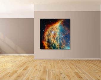Medusa Nebula canvas print