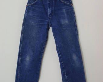 Vintage Denim High Waisted Wrangler Jeans XS 24