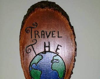 Travel The World sign