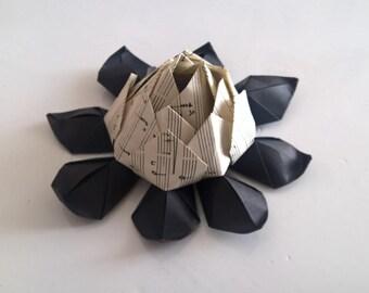 Origami Lotus flower theme music