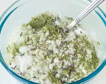Lavender Eucalyptus Green Tea Detox Bath