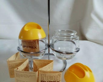 Vintage Pyrex - France - Egg Poacher