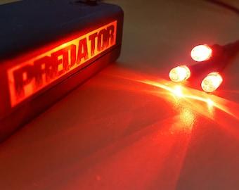LED Tri-LED Lights for Preadator bio helmet mask AVP Aliens / not Tri-Laser