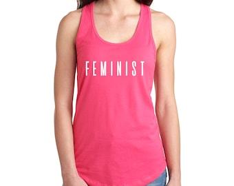 Feminist Women's Tank Top / T-Shirt