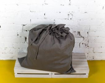 Linen laundry bag, dirty laundry bag, linen bag, laundry bag, big laundry bag, linen laundry, big size, laundry tote, wall laudry bag/LH0004