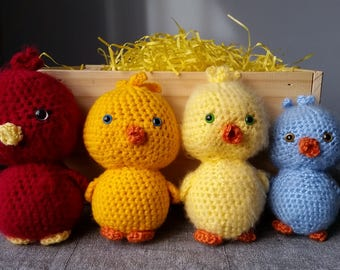 Easter chicks / chick plush / toy chicks and ducks / plush Chick, duck