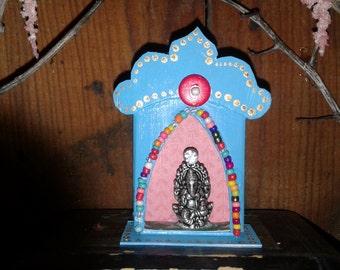 Ganesh Shrine Spirit House Beads Enchanted Reliquary