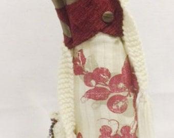 Clarissa, a beautiful hand made stump doll