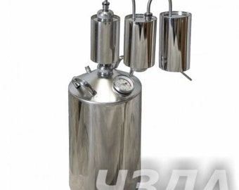 12L Alcohol Stainless Distiller Home Brew Kit Moonshine Wine Making Boiler