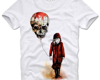 DOPEHOUSE T- Shirt Girl Graffiti Grafitti Skull Watercolor Swag Tattoo Ink Sprayer Grunge Dope Trippy Banksy Wasted Youth