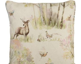 Voyage Maison Enchanted Forest Piped Cushions with Fillers Various Sizes 28cm , 36cm, 43cm , 60cm