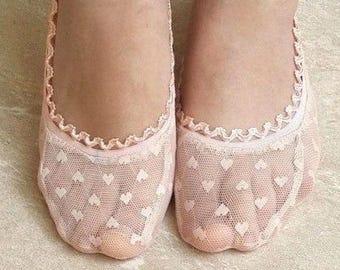 Lace socks, lace peds, custom design