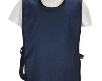 Poly cotton Tabards for schools. Kids tabards