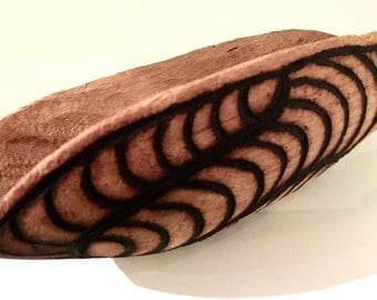 Traditional Northern Territory of Australia Handcarved Wooden Bowl