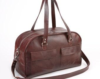 Timothy bag chestnut brown