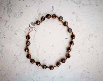 "Bracelet woman ""Grana"" bronze"